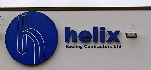 Helix roofing on Breck Road, Wallasey, Wirral.